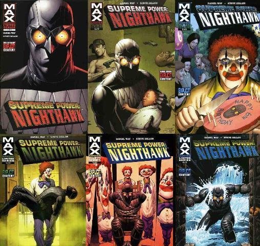SUPREME POWER NIGHTHAWK (2005) 1-6  COMPLETE!