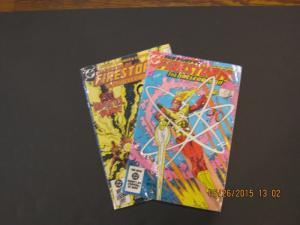 DC MIXED LOT of 2 FIRESTORM Comics #30 & #33 VG/FINE (SIC232)