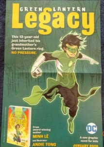 GREEN LANTERN LEGACY Promo Poster, 11 x 17, 2020, DC Unused more in our store 55