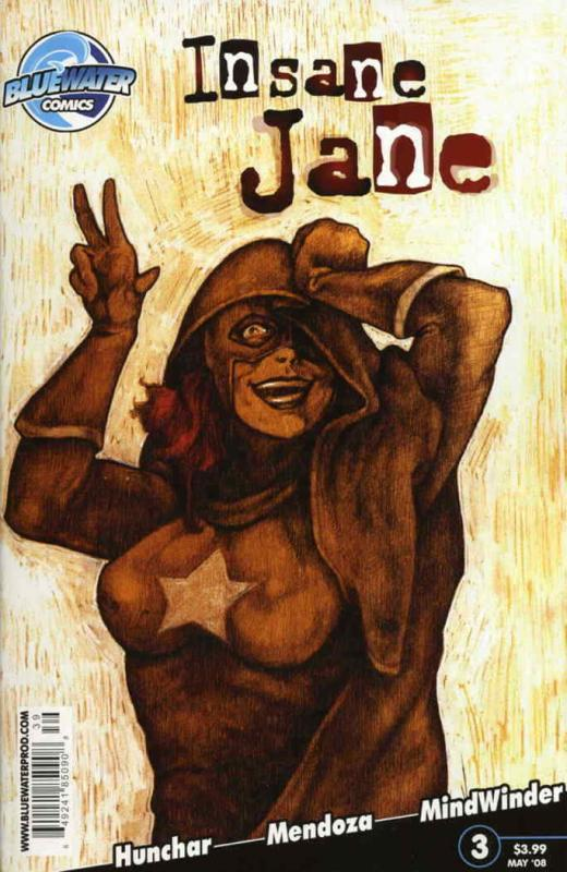 Insane Jane #3A VF/NM; Bluewater | save on shipping - details inside