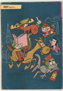 Rocky and His Fiendish Friends #5 (Sep-63) VG Affordable-Grade Rocket J Squir...