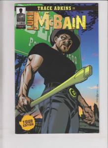Trace Adkins is Luke McBain #1 VF/NM tour edition variant - rare comic 2009