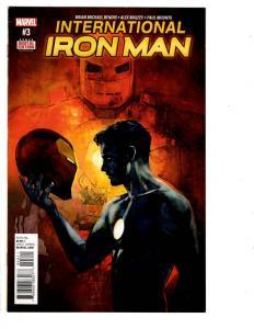 3 Iron Man Marvel Comic Books International # 3 Invincible # 518 Vol. 2 # 9 WM7