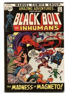 AMAZING ADVENTURES #9-comic book BLACK BOLT/INHUMANS Marvel