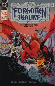 DC Comics! Forgotten Realms! The Dragonreach Saga! Part 2 of 4! Issue 6!