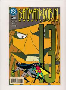 DC Comics - BATMAN & ROBIN Adventures #13, 1996 NM (PF34)