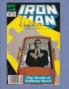 Iron Man #284 VF Death Of Tony Stark Marvel 1992