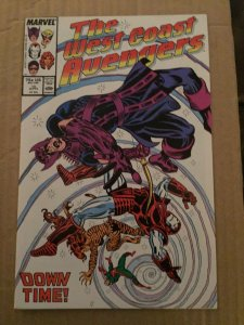 The West Coast Avengers #19