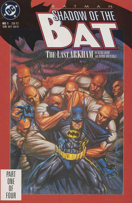 Batman: Shadow of the Bat #1 FN DC - save on shipping - details inside