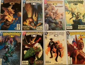Hawkans 4th series comic lot from:#1-48 42 difference 8..0 VF (2002-06)