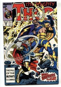 Thor #386 1987-1st appearance of Leir- comic book Marvel