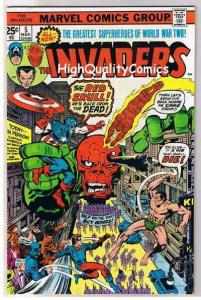 INVADERS #5, VF, Captain America, Sub-Mariner, Torch, 1975, more in store