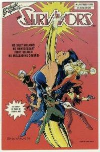 The Survivors #1 - Prelude Graphics - October 1986