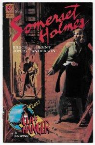 Somerset Holmes #1 (Pacific Comics, 1983) FN-