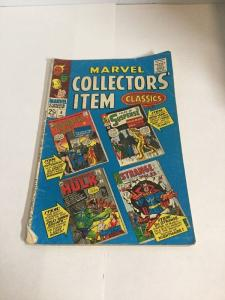 Marvel Collectors Item 6 Gd/Vg Good/Very Good 3.0 Silver Age