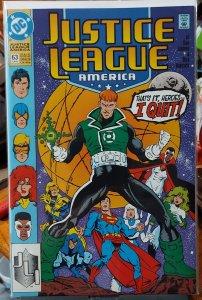 Justice League America #63 (1992)