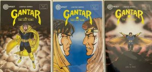 Gantar the last nabu set:#1-3 8.5 VF+ (1986-87)