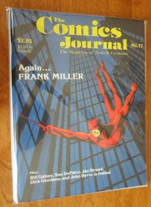 Comics Journal #77 Frank Miller Daredevil 8.0 VF (1992)