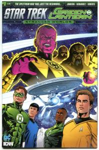 STAR TREK GREEN LANTERN #1 2 3 4 5 6 A, NM, Spock, Kirk, Stranger, 2016, 1-6 set