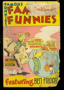 FAMOUS FUNNIES #188 1950-WESTERN COVER-BUCK ROGERS FR