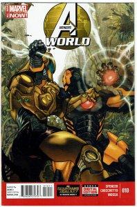 Avengers World #10 Captain America Spider-Woman NM