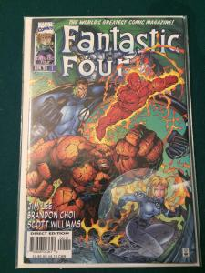 Fantastic Four #1 vol 2 Heroes Reborn NM-M