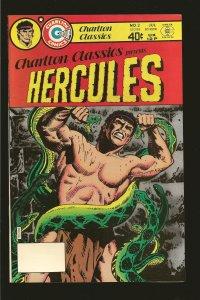 Charlton Comics Classics Hercules Vol 1 No 2 July 1980