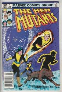 New Mutants #1 (Mar-83) NM- High-Grade New Mutants (Cannonball, Sunspot, Wolf...