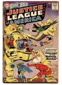 Brave And The Bold #29 2nd Justice League Of America  Aquaman -robot cover