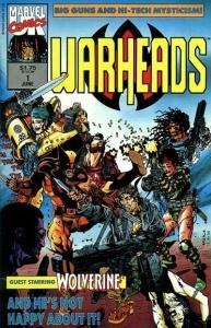 Warheads #1, VF- (Stock photo)