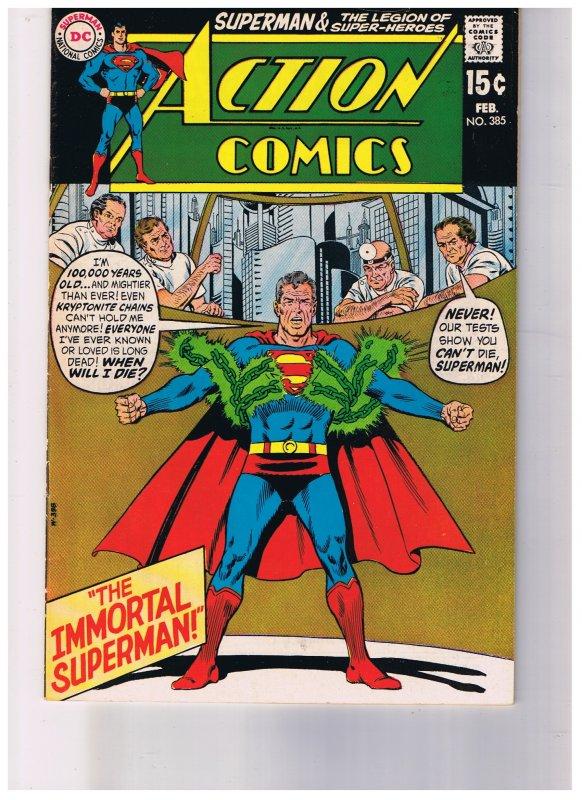 Action Comics # 385