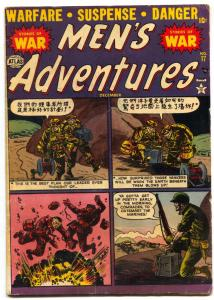 Men's Adventure #17 1952- Korean War- Russ Heath VG+