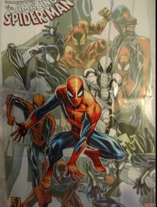 AMAZING SPIDER-MAN Promo Poster, 24 x 36, 2012, MARVEL, Unused 324