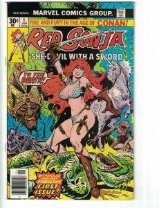 Red Sonja (Vol. 1) #1 VG; Marvel | low grade comic - save on shipping - details
