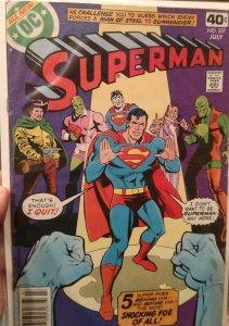 Superman #337 (July 1979, DC) VF/NM