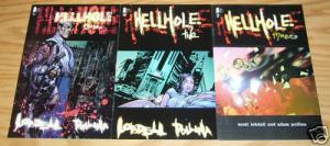 Hellhole #1-3 VF/NM complete series - adam pollina - scott lobdell - image comic