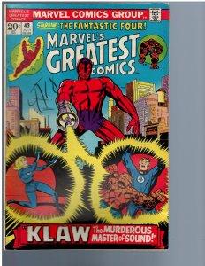 Marvel's Greatest Comics #43 (1973)