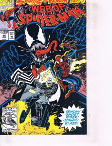 Lot Of 2 Marvel Comic Books Generation X #4 and Web of Spider-Man #95  ON6
