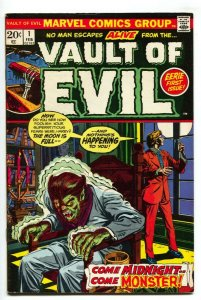 Vault of Evil #1 1973- Marvel Bronze Age Horror FN/VF