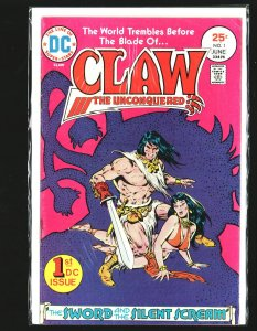 Claw the Unconquered #1 (1975)