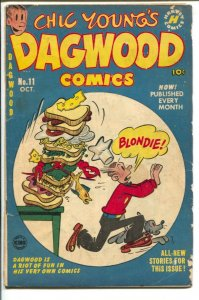 Dagwood #11 1951-Harvey-Chic Young-Blondie-Popeye-Little Iodine-puzzle page-L...