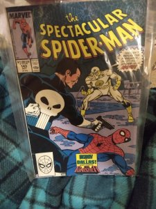The Spectacular Spiderman #143 NM in original poly bag