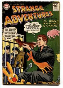 Strange Adventures #77 1957- Prison / Balloon animals cover - DC Silver Age