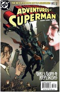 Adventures of Superman #627 NM+