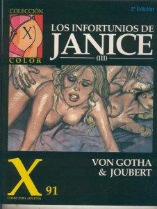 Coleccion X numero 091: Los infortunios de Janice numero III