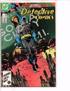 DC Comics Detective Comics #568 Batman; Legends Crossover Klaus Janson Art