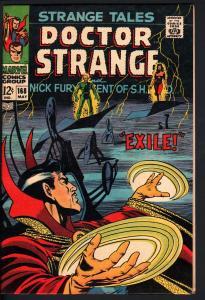 STRANGE TALES #168-DR. STRANGE-NICK FURY-STERANKO ART VF