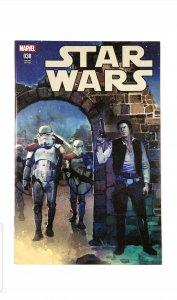 Star Wars #38 (Marvel 2018) Rod Reis Exclusive Variant Han Solo NM