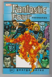 FANTASTIC FOUR - VISIONARIES VOL. 2 by GEORGE PEREZ 2006 MARVEL COMICS
