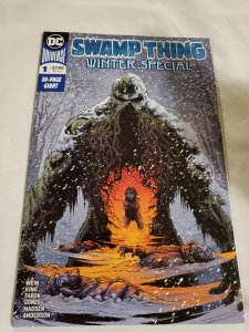 Swamp Thing Winter Special 1 Near Mint Cover by Jason Fabok